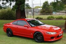 2002 Nissan 200SX S15 Spec S GT Red 6 Speed Manual Coupe Leederville Vincent Area Preview