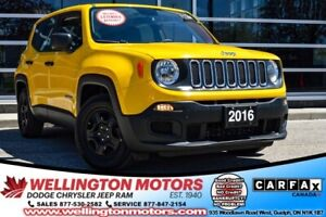 2016 Jeep Renegade Sport / Huge Remaining Warranty / No Acc. ...