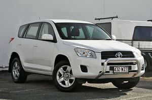 2012 Toyota RAV4 ACA33R MY12 CV White 4 Speed Automatic Wagon Tweed Heads South Tweed Heads Area Preview