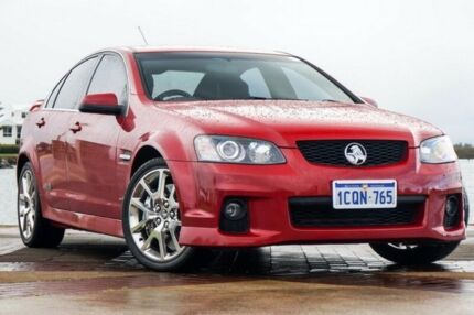 2011 Holden Commodore VE II MY12 SS V Red 6 Speed Sports Automatic Sedan
