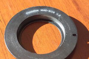 Fotodiox M42-EOS Adaptor V2