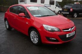 VAUXHALL ASTRA 1.7 ENERGY CDTI 5d 108 BHP (red) 2013