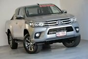 2017 Toyota Hilux GUN126R SR5 Extra Cab Silver 6 Speed Sports Automatic Utility Kedron Brisbane North East Preview