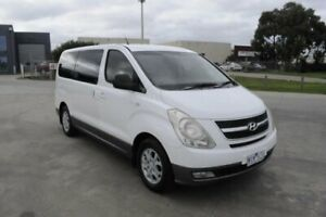 2008 Hyundai iMAX TQ White 4 Speed Automatic Wagon Hoppers Crossing Wyndham Area Preview