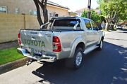2013 Toyota Hilux KUN26R MY12 SR5 Double Cab Silver 4 Speed Automatic Utility Medindie Walkerville Area Preview