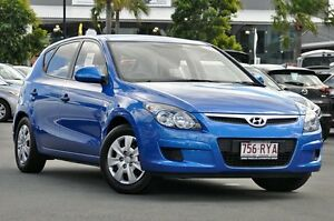 2011 Hyundai i30 FD MY11 SX Blue 5 Speed Manual Hatchback Tweed Heads South Tweed Heads Area Preview