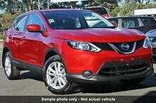 2015 Nissan Qashqai J11 ST (4x2) Magnetic Red 6 Speed Manual Wagon Beaudesert Ipswich South Preview