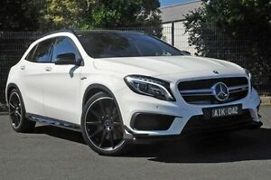 2016 Mercedes-Benz GLA 45 AMG 4MATIC White Sports Automatic Dual Clutch Wagon Doncaster Manningham Area Preview