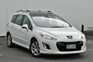2011 Peugeot 308 T7 XSE HDi Touring White 6 Speed Sports Automatic Wagon Tweed Heads South Tweed Heads Area Preview