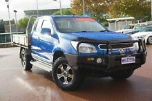2013 Holden Colorado RG MY14 LX Space Cab Blue 6 Speed Manual Cab Chassis Glendalough Stirling Area Preview