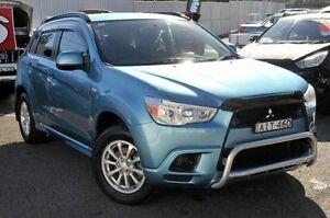 2011 Mitsubishi ASX XA MY11 2WD Blue 6 Speed Constant Variable Wagon Gosford Gosford Area Preview