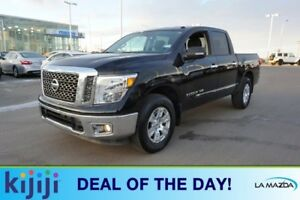 2018 Nissan Titan 4X4 CREWCAB SV Accident Free,  Back-up Cam,  B