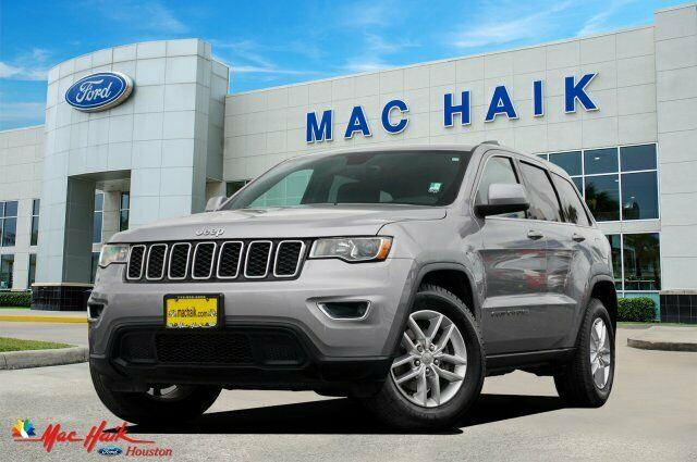 2017 Jeep Grand Cherokee Laredo 30956 Miles Billet Silver Metallic Clearcoat Spo