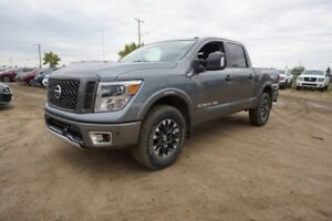 2018 Nissan Titan 4X4 PRO-4X CREW CAB BACK UP CAMERA, BLUETOOTH