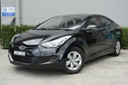 2013 Hyundai Elantra MD3 Active Black 6 Speed Sports Automatic Sedan South Maitland Maitland Area Preview
