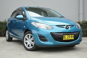 2011 Mazda 2 DE MY12 Neo Blue 4 Speed Automatic Hatchback South Maitland Maitland Area Preview