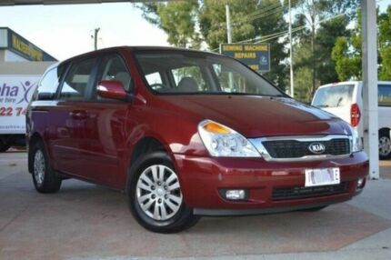 2011 Kia Carnival VQ MY11 S Burgundy 4 Speed Automatic Wagon Frankston Frankston Area Preview
