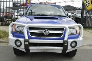 2011 Holden Colorado RC MY11 LT-R (4x4) Blue 5 Speed Manual Crew Cab Pickup