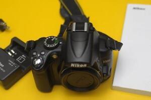 Nikon D5000 DSLR body