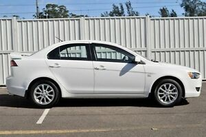 2010 Mitsubishi Lancer CJ MY11 SX White 6 Speed Constant Variable Sedan Gosford Gosford Area Preview