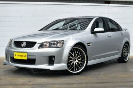 2009 Holden Commodore VE MY10 SS V Silver 6 Speed Manual Sedan Thornlie Gosnells Area Preview