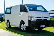 2013 Toyota Hiace TRH201R MY12 LWB White 4 Speed Automatic Van Wangara Wanneroo Area Preview