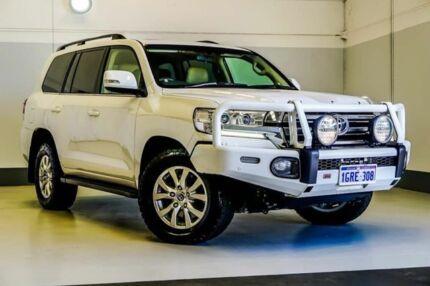 2016 Toyota Landcruiser VDJ200R VX White 6 Speed Sports Automatic Wagon Wangara Wanneroo Area Preview