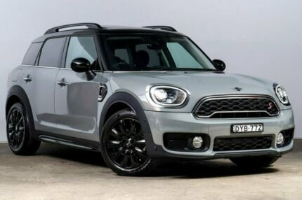 2018 Mini Countryman F60 Cooper S Steptronic Moonwalk Grey 8 Speed Sports Automatic Wagon Alexandria Inner Sydney Preview