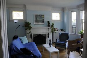 Spacious, bright, heritage 2-bed, 2-bath apt to share in Glebe