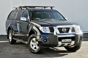 2007 Nissan Navara D40 ST-X Blue 5 Speed Automatic Utility Tweed Heads South Tweed Heads Area Preview