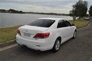 2009 Toyota Aurion GSV40R 09 Upgrade AT-X White 6 Speed Auto Sequential Sedan Five Dock Canada Bay Area Preview