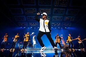 Activate your sexy in the 1ST ROW+ balcony w/ BRUNO MARS @ACC