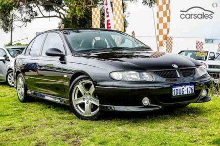 2001 Holden Commodore VX II SS Black 4 Speed Automatic Sedan