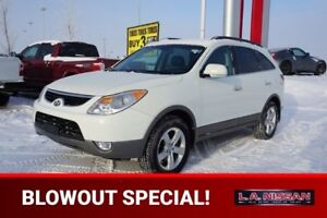 2012 Hyundai Veracruz AWD LIMITED 3.8L V6 Leather,  Heated Seats