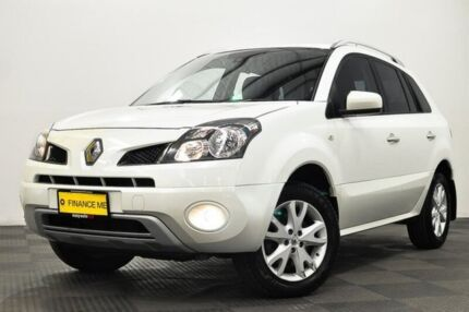 2011 Renault Koleos H45 MY11 Dynamique White 1 Speed Constant Variable Wagon Edgewater Joondalup Area Preview