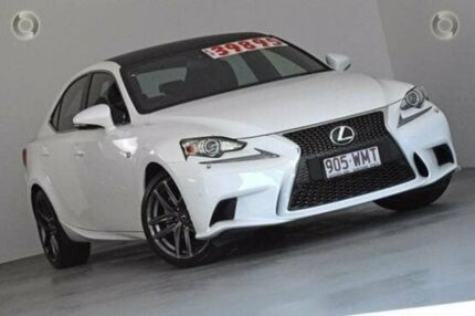 2014 Lexus IS250 GSE30R F Sport White 6 Speed Sports Automatic Sedan Albion Brisbane North East Preview
