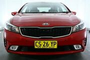 2016 Kia Cerato YD MY17 S Red 6 Speed Sports Automatic Sedan Maryville Newcastle Area Preview