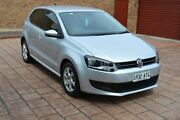 2012 Volkswagen Polo 6R MY13 77TSI DSG Comfortline Silver 7 Speed Sports Automatic Dual Clutch Stepney Norwood Area Preview