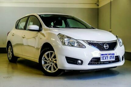 2015 Nissan Pulsar C12 Series 2 ST White 1 Speed Constant Variable Hatchback Wangara Wanneroo Area Preview
