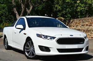 2015 Ford Falcon FG X XR6 Ute Super Cab White 6 Speed Sports Automatic Utility Thorngate Prospect Area Preview