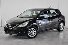 2013 Nissan Pulsar C12 ST Black 1 Speed Constant Variable Hatchback Robina Gold Coast South Preview