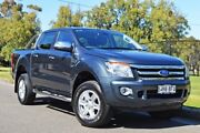 2015 Ford Ranger PX XLT Double Cab Metropolitan Grey 6 Speed Sports Automatic Utility Thorngate Prospect Area Preview