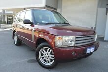2004 Land Rover Range Rover L322 03MY HSE Red 5 Speed Automatic Wagon Beckenham Gosnells Area Preview