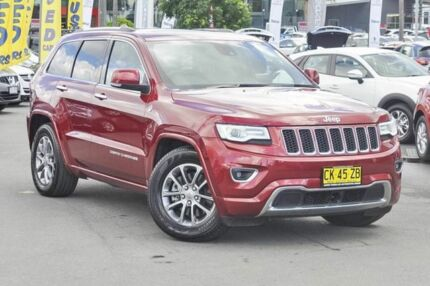 2014 Jeep Grand Cherokee WK MY15 Overland Deep Cherry Red 8 Speed Sports Automatic Wagon