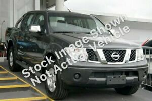 2009 Nissan Navara D40 ST-X Grey 6 Speed Manual Utility Launceston Launceston Area Preview