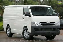2009 Toyota Hiace TRH201R MY08 LWB White 5 Speed Manual Van Myaree Melville Area Preview