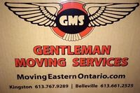 GMS. Kingston and Belleville  Driving position available