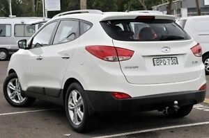 2010 Hyundai ix35 LM MY11 Elite AWD White 6 Speed Sports Automatic Wagon North Gosford Gosford Area Preview