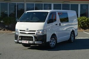 2013 Toyota Hiace TRH201R MY12 LWB White 4 Speed Automatic Van Highland Park Gold Coast City Preview