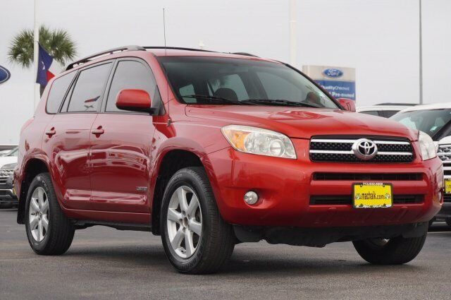 Owner 2006 Toyota RAV4 Limited 118001 Miles Barcelona Red Metallic Sport Utility Gas I